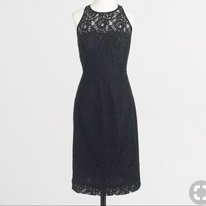 J. Crew Lace Sleeveless Sheath Dress, 6